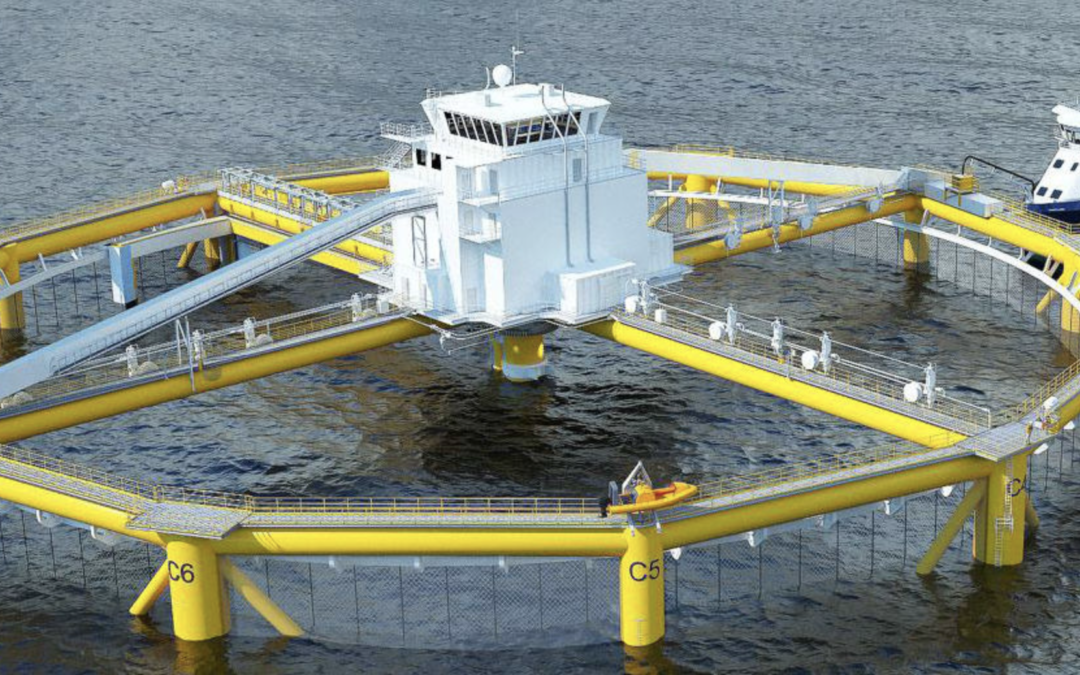 World's First Semi-Sub Aquaculture Vessel Delivered